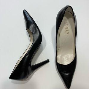 Ralph Lauren Black High Heel Pumps Women's 5 1/2